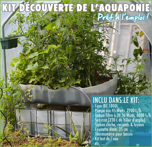 Achat kit aquaponique complet