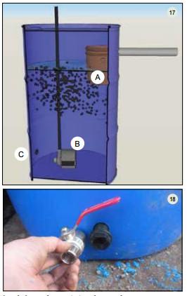 Guide pas à pas dans la construction d'une unite aquaponique classique NFT et DWC (100)