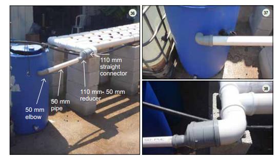 Guide pas à pas dans la construction d'une unite aquaponique classique NFT et DWC (113)