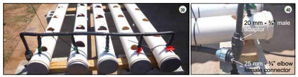 Guide pas à pas dans la construction d'une unite aquaponique classique NFT et DWC (114)