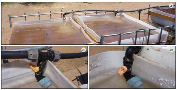 Guide pas à pas dans la construction d'une unite aquaponique classique NFT et DWC (134)