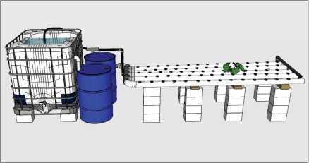 Guide pas à pas dans la construction d'une unite aquaponique classique NFT et DWC (59)