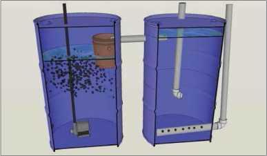 Guide pas à pas dans la construction d'une unite aquaponique classique NFT et DWC (62)