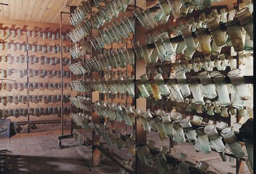 Technique de stockage du raisin à Thomery. Photo : Topic Tops