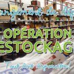 Changement d'entrepôt : Opération destockage!