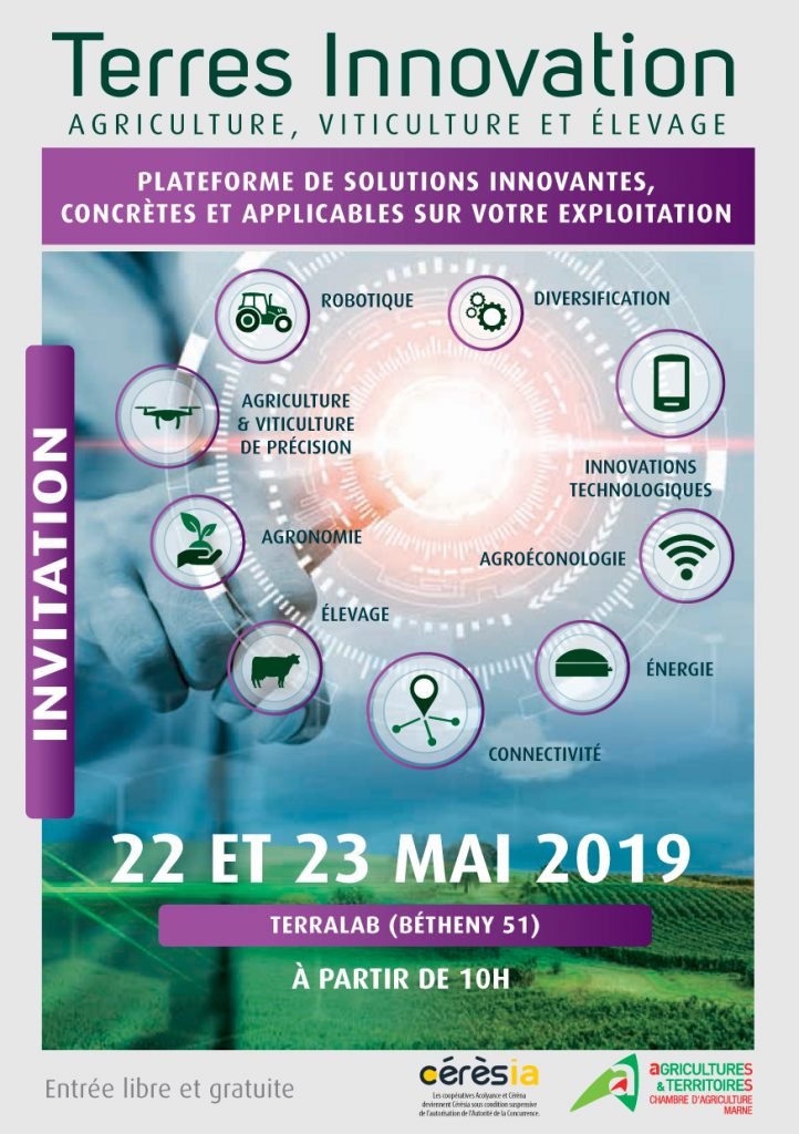 Affiche Terre Innovations 2019