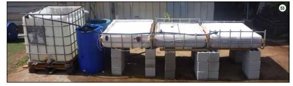 Guide pas à pas dans la construction d'une unite aquaponique classique NFT et DWC (142)