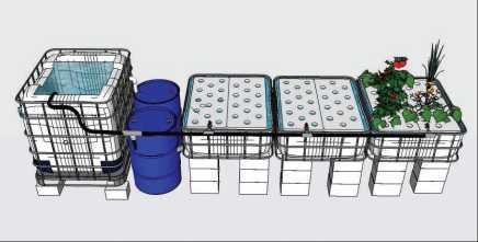 Guide pas à pas dans la construction d'une unite aquaponique classique NFT et DWC (65)