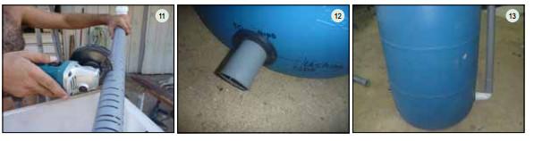 Guide pas à pas dans la construction d'une unite aquaponique classique NFT et DWC (98)