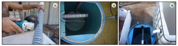 Guide pas à pas dans la construction d'une unite aquaponique classique NFT et DWC (99)