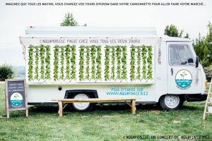 L'aquamobile : la première camionnette maraîchère mobile du monde!