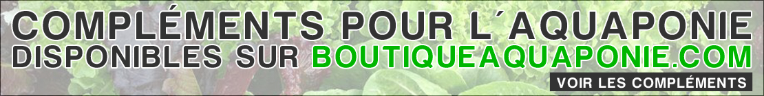 Compléments et fertilisants aquaponie