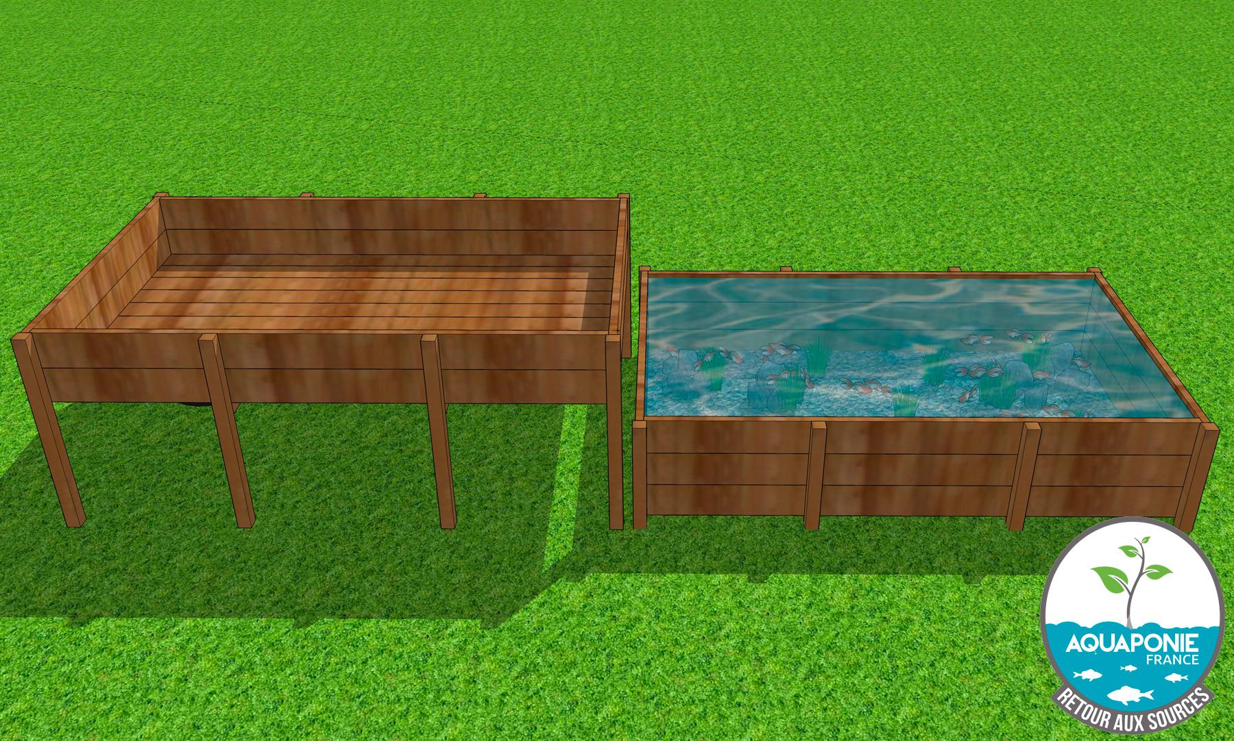 Faire Un Bassin Exterieur fabriquer vos bassins à poissons et tables de culture diy